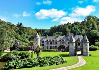 Aux Alentours - Parc et château de Nacqueville