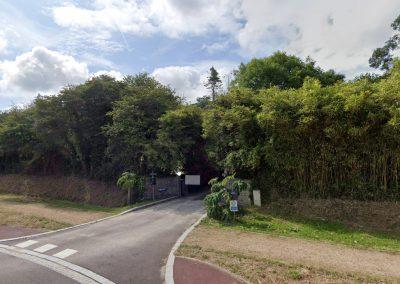La Blanche Maison - Plan d'accès - Entrée