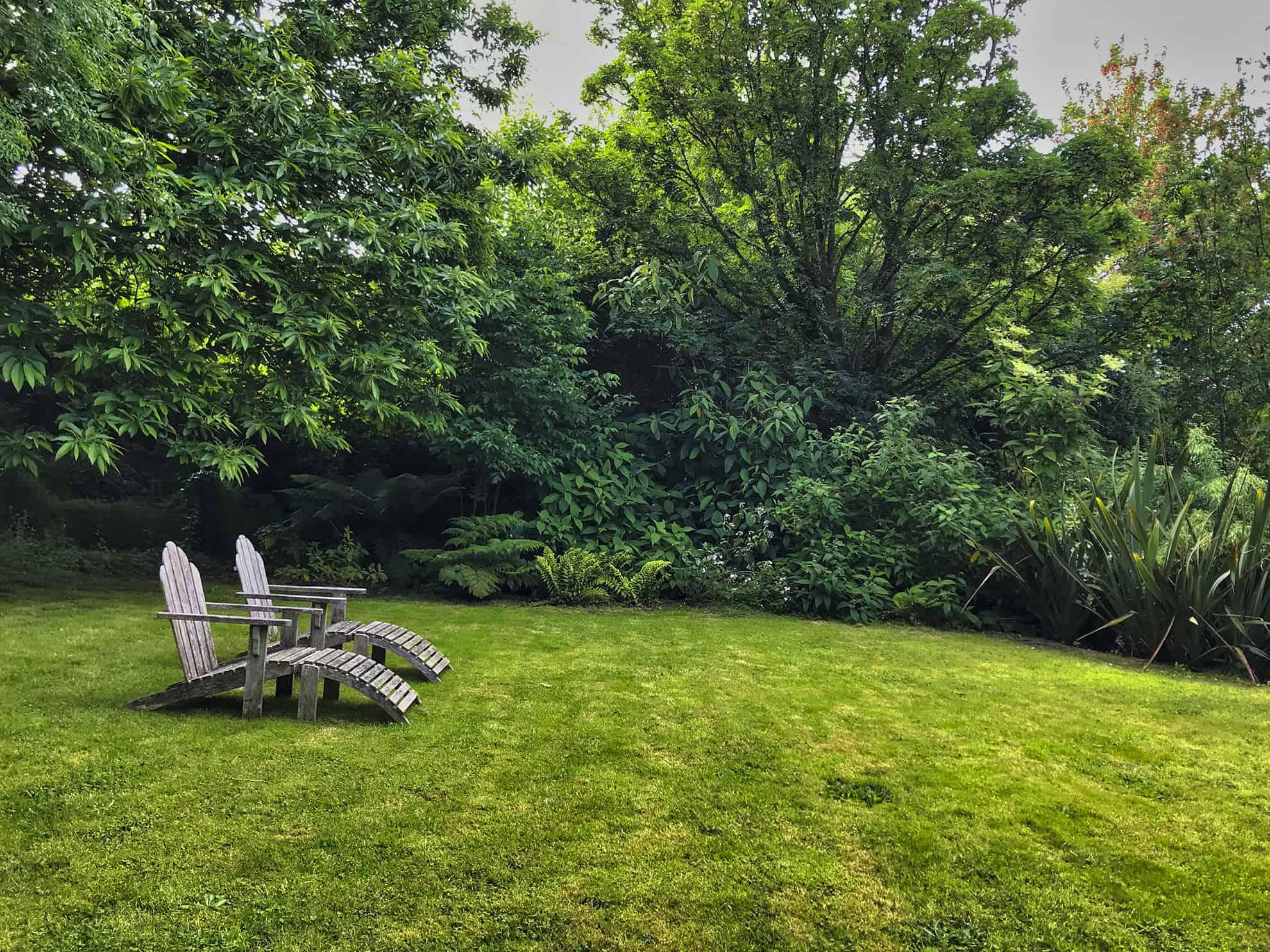 La Blanche Maison - Repos au jardin