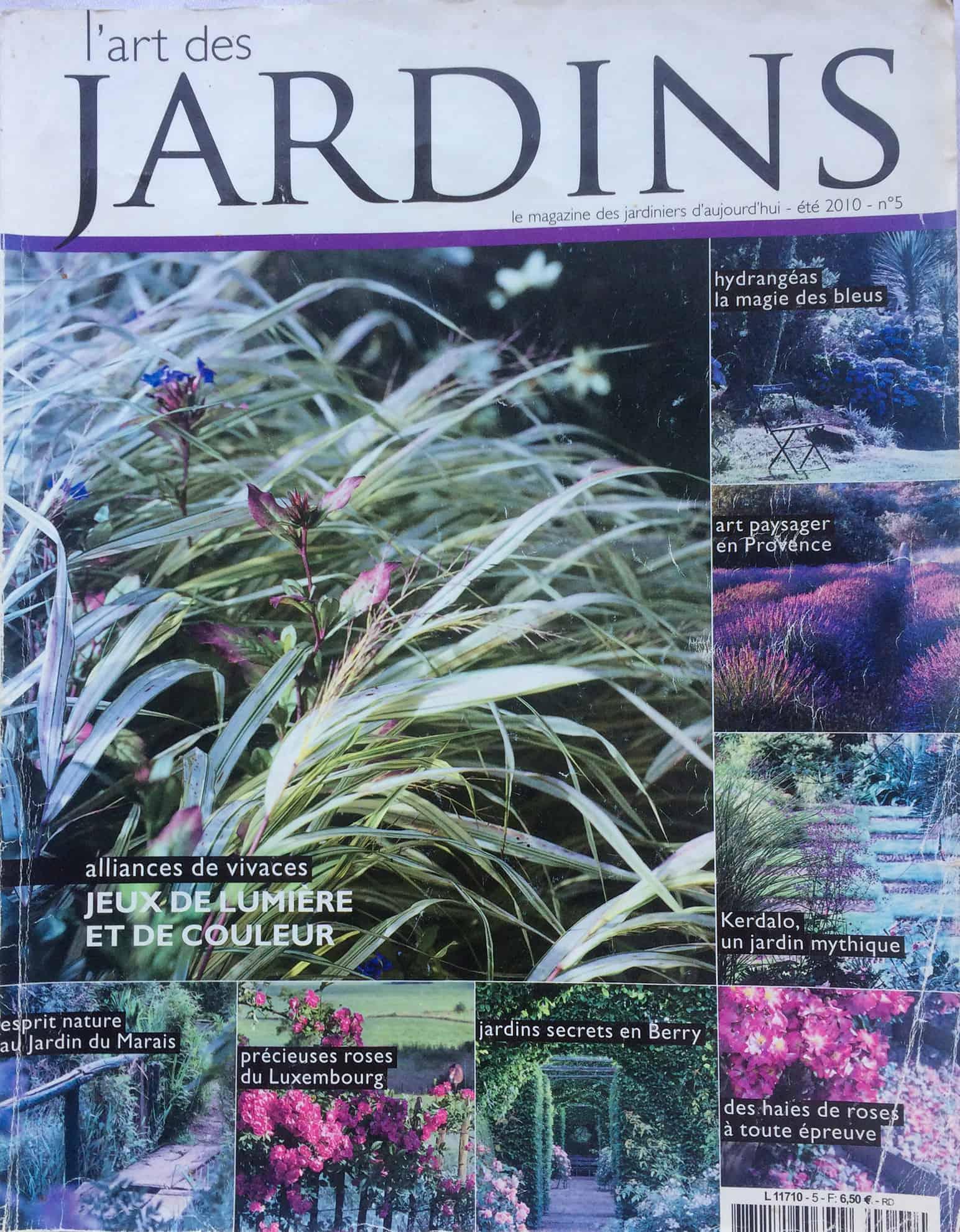 La Blanche Maison - Magazine - L'Art des jardins - No 5 - 2010
