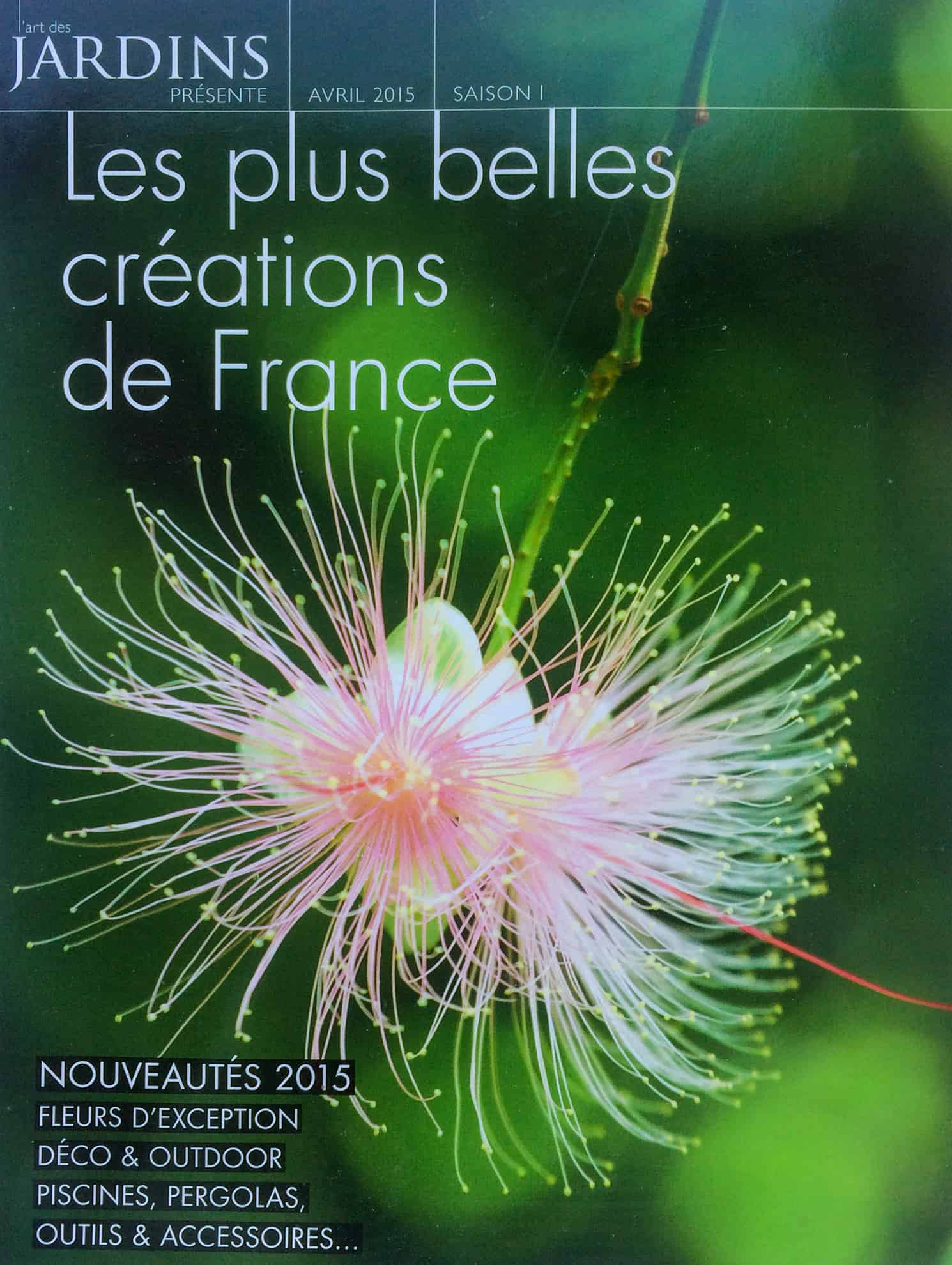La Blanche Maison - Hors-série - L'Art des jardins - Les plus belles créations de France - Avril 2015