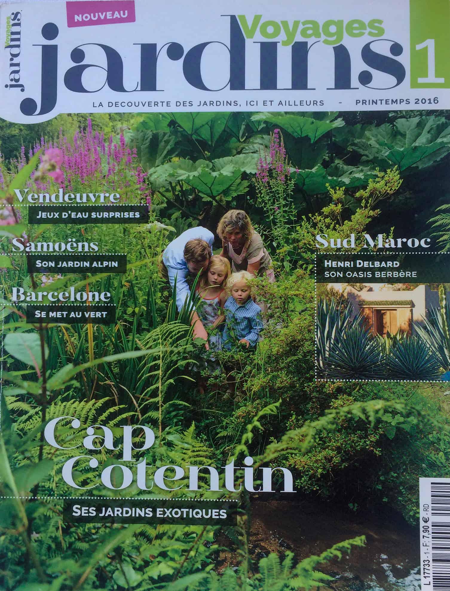 La Blanche Maison - Magazine - Voyages jardins - No 1 - 2016