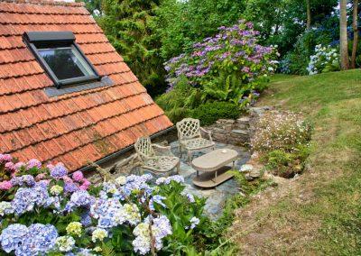 Gîte Les Mot Bleus - Terrasse