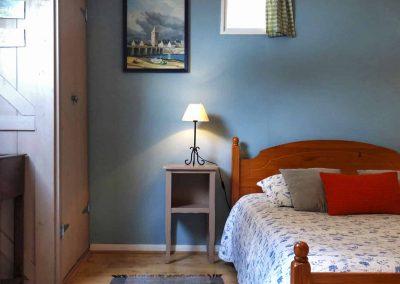 Gîte L'Odyssée - Chambre bleue